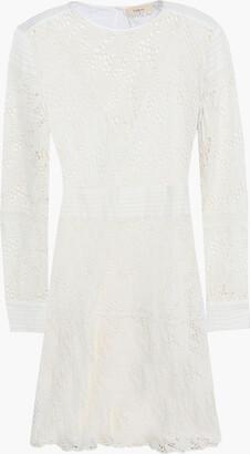 BA&SH Aphrodite Broderie Anglaise Cotton Mini Dress