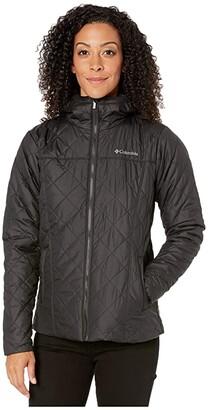 Columbia Copper Cresttm Hooded Jacket (Black) Women's Coat