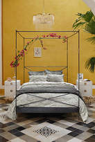 Anthropologie Brass Finial Bed