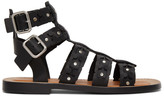 Loewe Black Spartiate Sandals