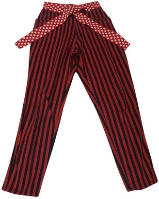 Moschino Cheap & Chic Moschino Cheap And Chic Red Denim - Jeans Trousers for Women Vintage