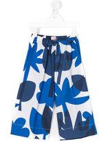 Il Gufo floral print trousers - kids - Cotton - 2 yrs