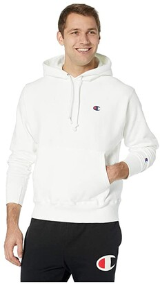 Champion LIFE Reverse Weave(r) Pullover Hoodie (White) Men's Clothing