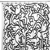 Bed Bath & Beyond Keith HaRing 72-Inch x 72-Inch Shower Curtain