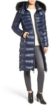 Andrew Marc Women's Down Coat With Genuine Fox Fur Trim