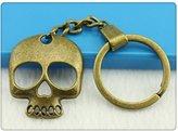 Nobrand No brand Men Jewelry Key Chain, New Fashion Metal Key Chains Accessory, Vintage Skull Key Chain