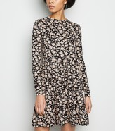 New Look Floral Soft Touch Tiered Smock Dress