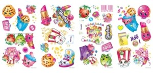York Wall Coverings York Wallcoverings Shopkins Peel and Stick Wall Decals