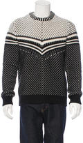 Burberry Patterned Wool Sweater