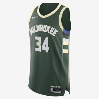 Nike NBA Authentic Jersey Giannis Antetokounmpo Bucks Icon Edition 2020