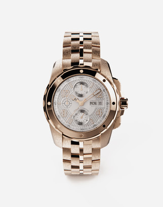 Dolce & Gabbana Ds5 Watch In Red Gold