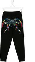 Marcelo Burlon County Of Milan Kids - printed sweatpants - kids - Cotton/Polyester - 6 yrs