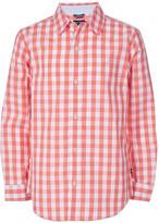 Nautica Boys' Button Down Shirts SUNSET - Sunset Gingham Skylar Button-Up - Toddler & Boys