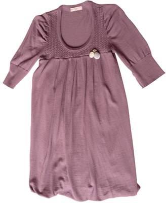 Erotokritos Purple Silk Dress for Women