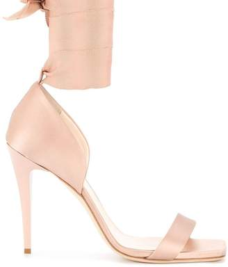 Lanvin wrapped ankle sandals