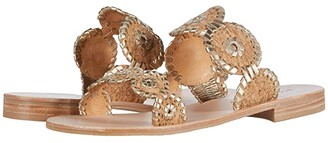 Jack Rogers Lauren Cork Sandal (Natural Cork/Gold) Women's Shoes