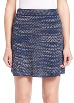 M Missoni A-Line Space Dye Skirt