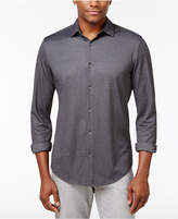 Alfani Men's Heathered Stretch Shirt, Created for Macy's