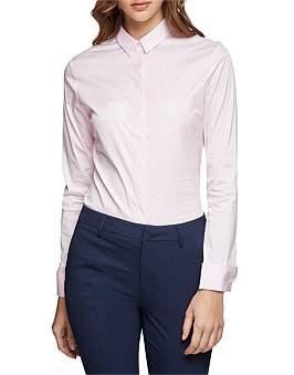 Oxford Angel Pink Stretch Shirt
