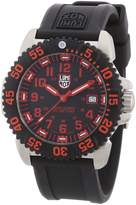 Luminox Men's Colormark 3165 Rubber Swiss Quartz Watch with Dial