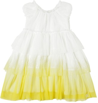 Ermanno Scervino Printed Lace Dress