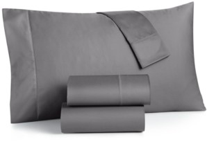 Charter Club Damask Extra Deep Pocket Queen 4-Pc Sheet Set, 550 Thread Count 100% Supima Cotton, Created for Macy's Bedding
