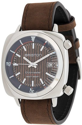 Briston Watches Clubmaster Diver Yachting Steel watch