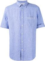 Diesel plain shirt - men - Cotton/Linen/Flax - M