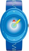 Alessi Kids' AL20000 Millennium Jr. Blue Strap with House Watch