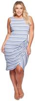 B Collection by Bobeau Curvy - Plus Size Side Gather Tank Dress Women's Dress