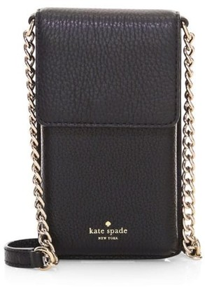 Kate Spade North South Leather Crossbody Bag