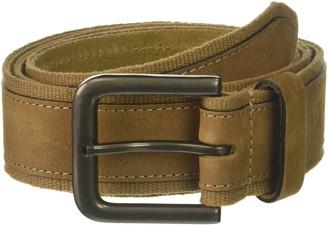 Haggar Men's 40MM 100 Percent Leather Belt