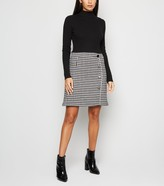 New Look Dogtooth 2 in 1 Dress