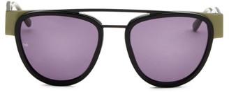 Smoke X Mirrors Soda Pop, 53MM, Oversized Aviator Sunglasses