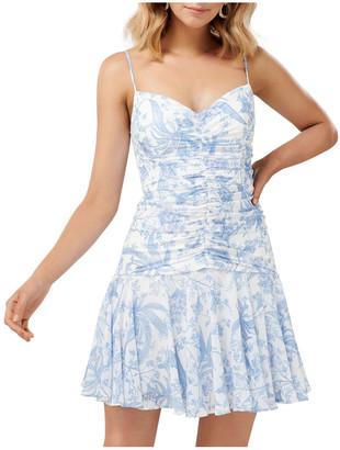 Forever New Eleni Ruched Mini Dress
