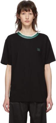Acne Studios Black Elsom Face T-Shirt