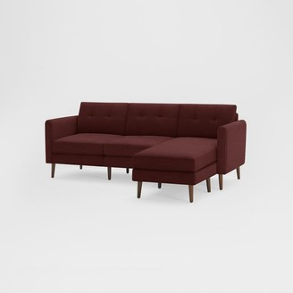 "west elm Burrow Nomad Reversible Chaise Sectional (86.5"")"