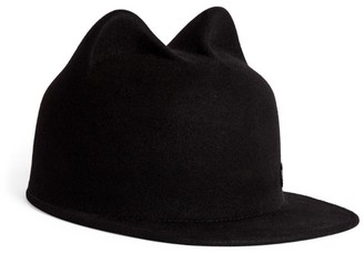 Maison Michel Jamie Felt Cat Ears Cap