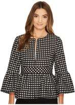 Nanette Lepore Check In Jacket Women's Coat