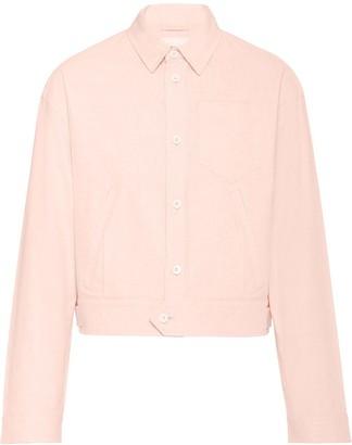Prada Boxy Shirt Jacket