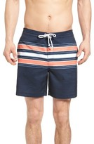 Original Penguin Men's Stripe Board Shorts