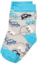 Melton Cars Dust Baby Socks