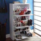 Asstd National Brand 4D Concepts Deluxe Triple Shoe Cabinet