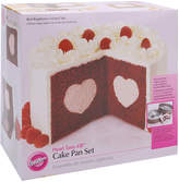 JCPenney Wilton Brands Wilton Heart Tasty-Fill Cake Pan Set