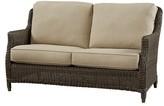 Wildon Home Sofa with Cushion Fabric: Canvas Air Blue