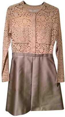 Victoria Victoria Beckham Pink Lace Dress for Women