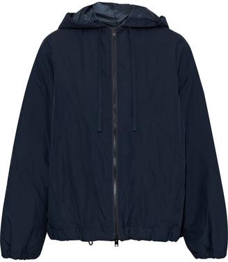 Vince Crinkled-shell Hooded Jacket