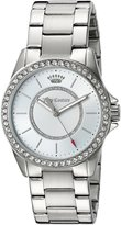 Juicy Couture Women's 1901407 Laguna Analog Display Quartz Silver Watch