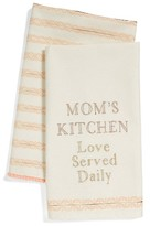 Levtex Mom's Kitchen Set Of 2 Dish Towels
