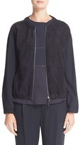 Fabiana Filippi Women's Suede & Twill Jacket